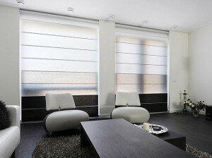 moderne gordijnen grote ramen alles over raamdecoratie lamellen luiken rol en vouwgordijnen