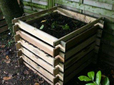 Composthoop aanleggen