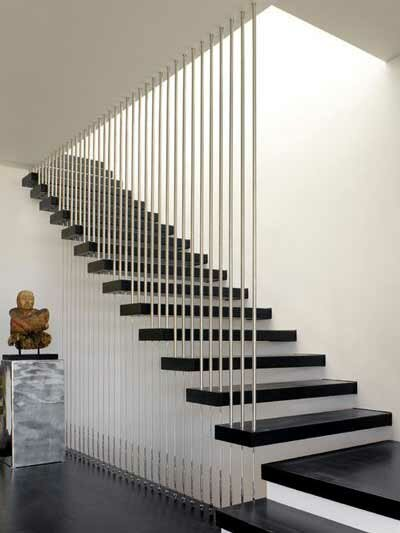 De trap als blikvanger interieur tips en advies klus - Balustrade trap ...