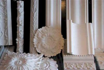 Decoratief pleisterwerk,ornamenten