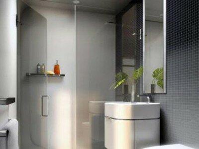 Een kleine badkamer inrichten 1