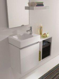 Een kleine badkamer inrichten klus uw hulp voor klussen en tuinieren - Inrichting van toiletten wc ...