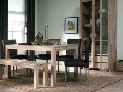 Een nieuwe eettafel en stoelen kiezen