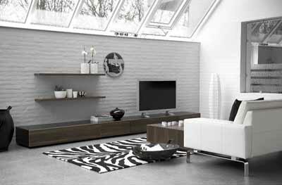 Eigentijdse interieur stijl