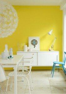 Geel in je interieur klus uw hulp voor klussen en tuinieren - Huidige kleur voor de kamer ...