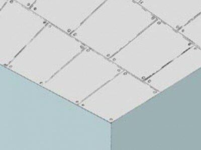 Gipsplaten plafond maken