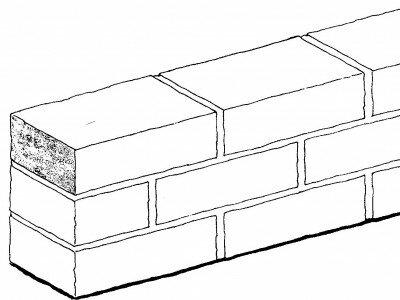 Halfsteensmuur