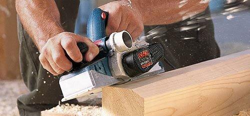 Bekend Houtbewerking, schaven met de elekrische schaafmachine » Klussen QN15