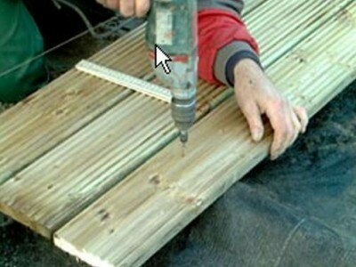 Houten terras maken