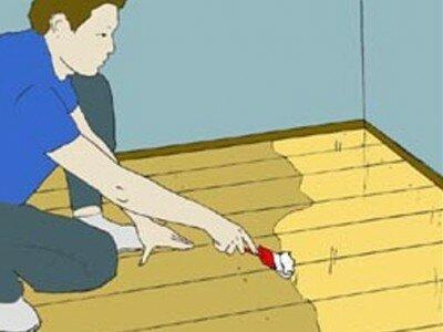 Houten vloer vernissen (lakken)