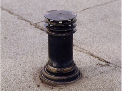Lekkage dakdoorvoer plat dak repareren