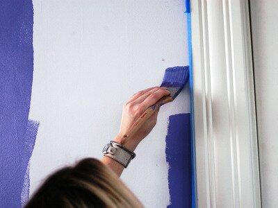 muren en plafonds zelf schilderen klus uw hulp voor klussen en tuinieren. Black Bedroom Furniture Sets. Home Design Ideas