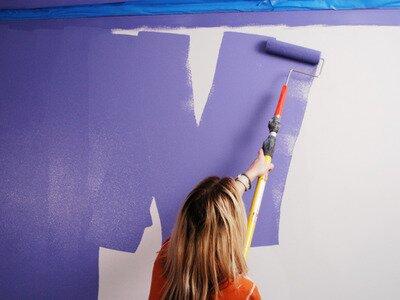 Muren en plafonds zelf schilderen