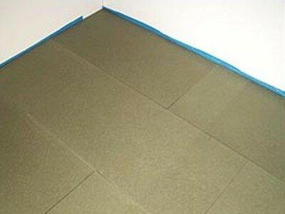 Ondervloer voor parket of laminaat leggen