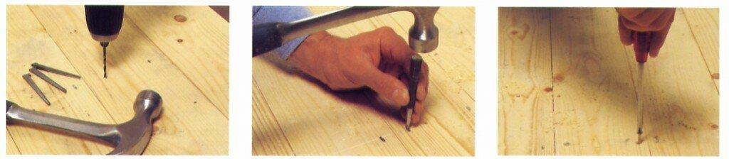 Reparatie en vervanging van vloerplanken