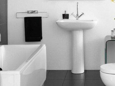 Sanitair, de gebruikersruimte van de toestellen