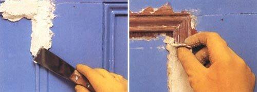 Verwijderen van verf, afstroop- of afpelbijtmiddel