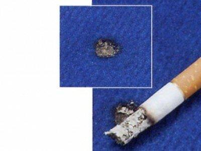 Vlekken verwijderen uit tapijt, kleine vlekken en brandplekken
