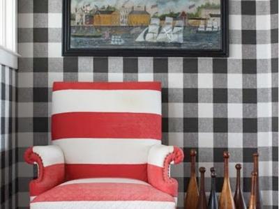 Werken met patronen in uw interieur