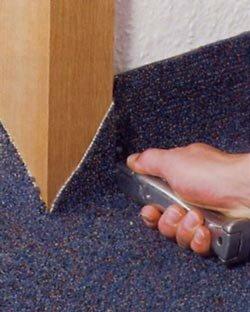 Zelf tapijt leggen, obstakels: deurkozijn