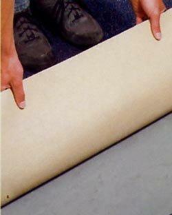 Zelf tapijt leggen, volledig of half verlijmen